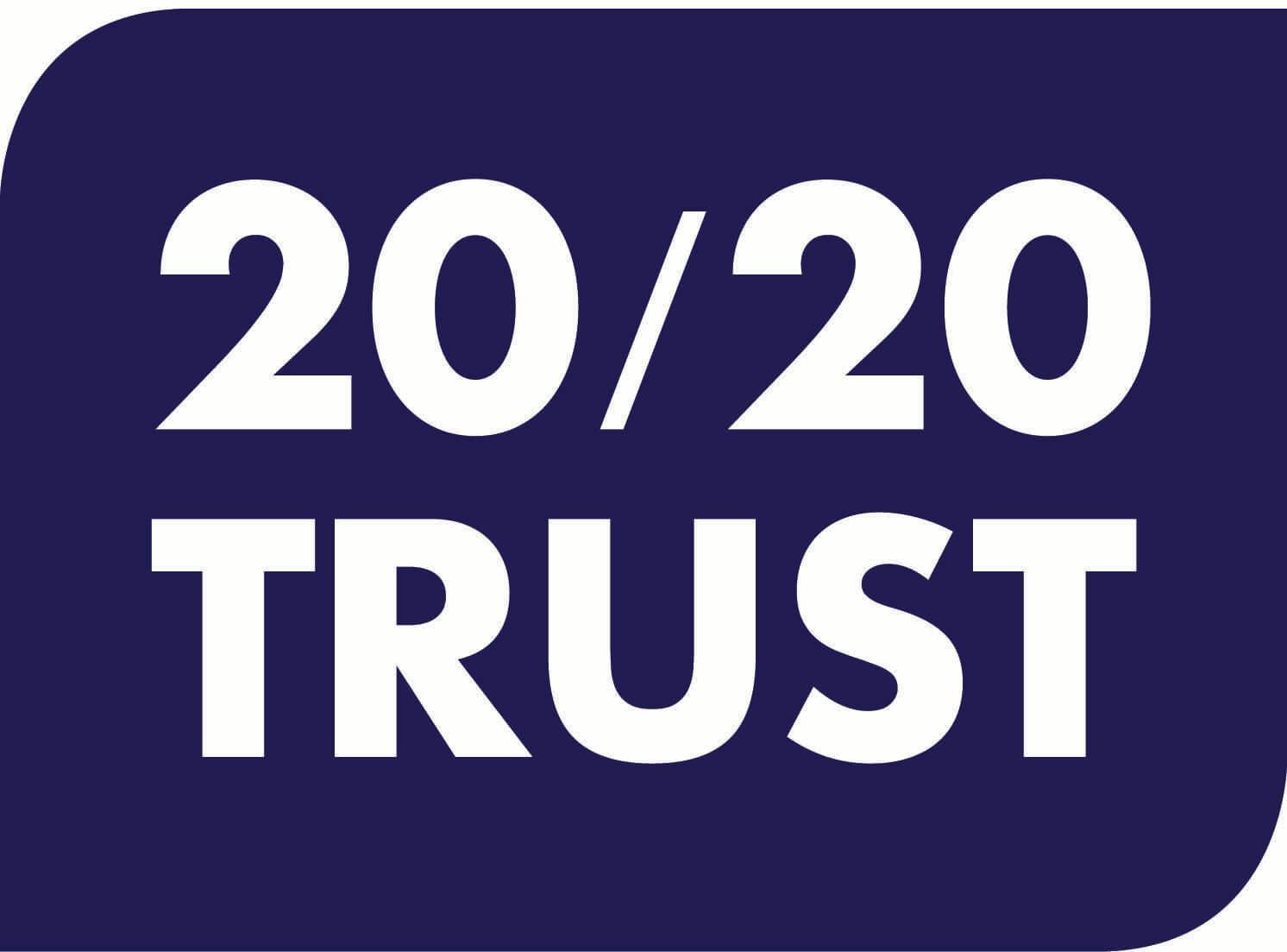 2020 Trust homepage