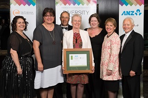 Highly Commended, ANZ and EEO Trust Diversity Awards NZ 2014