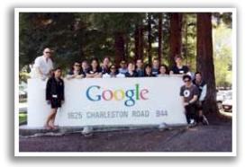 Visiting Google - K Simeon