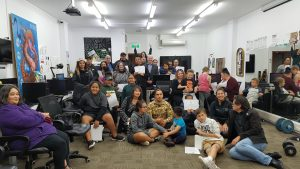 Summer Learning Journey whānau and supporters at graduation